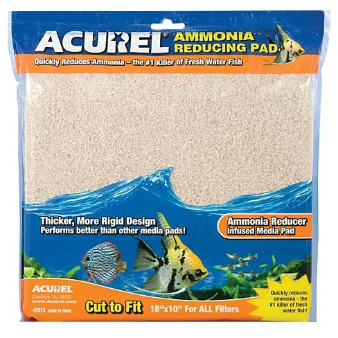 Acurel Ammonia Remover Infused Pad 10x18""