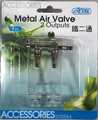 Metal Air Valve 2 output
