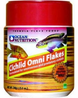 Ocean Nutrition Cichlid Omni Flake Food 2.5 OZ