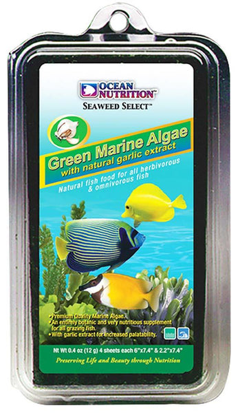 Ocean Nutrition Seaweed Selects Green Marine Algae