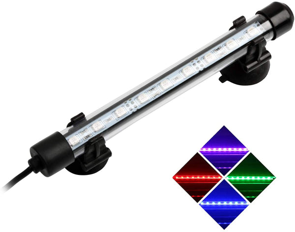Submersible LED Aquarium Light w/Remote (RGB Color Changing) - NICREW (Multiple sizes available)