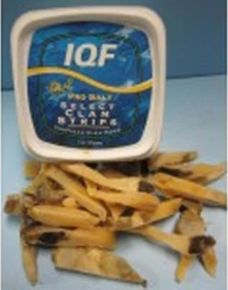Pro Salt - Clam Strips in a Tub 5oz