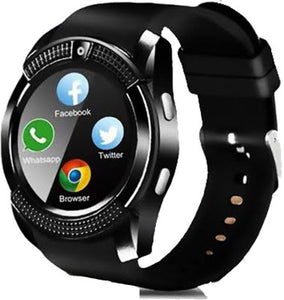 Unisex Vecta Waterproof Smartwatch Phone Camera With SIM / TF Card Slot with FREE EARPODS!