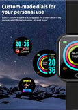 FIT PRO SMARTWATCH ( WATERPROOF )