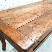 Load image into Gallery viewer, Antique French Country Natural Chestnut Workstation