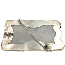 Load image into Gallery viewer, Vintage Mexican Silver Quartz Pendant Brooch