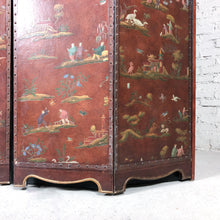 Load image into Gallery viewer, Vintage Baker Furniture Asian Faux Leather Media Cabinet