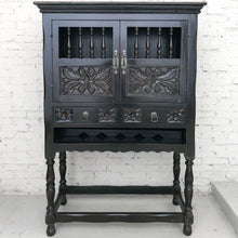 Load image into Gallery viewer, Spanish Colonial Hardwood Bar Cabinet