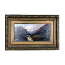 Load image into Gallery viewer, Antique Unknown Painterly Landscape Painting
