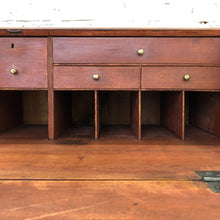 Load image into Gallery viewer, Antique Chippendale Mahogany Desk