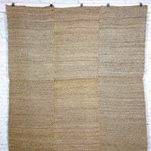 Load image into Gallery viewer, Hand Woven Natural Fiber Contemporary Natural Jute Rug