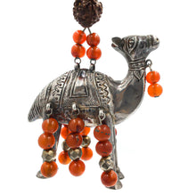 Load image into Gallery viewer, Ruth Frank Silver Carnelian Vintage Pendant Necklace