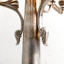 Load image into Gallery viewer, Set of 2 Victorian Silver Plated Pryor Tyzack Candleholder