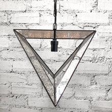 Load image into Gallery viewer, Contemporary Mirrored Exposed Bulb Pendant