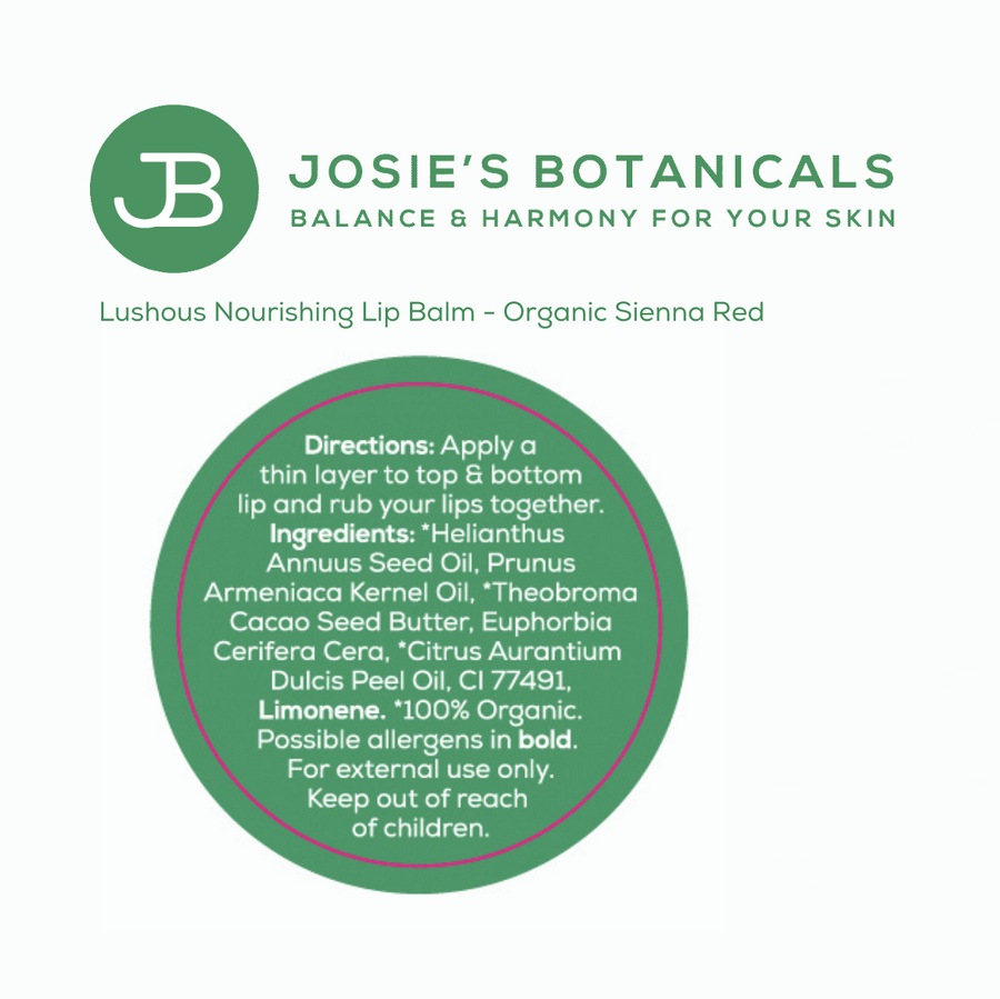 Luscious Nourishing Lip Balm - Vegan Friendly