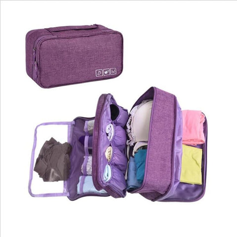 Bra Underware Drawer Organizers Travel Storage Dividers Box Bag Socks Briefs Cloth Case Clothing Wardrobe Accessories Supplies