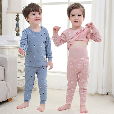 Baby Girls Clothing Pants Set Toddler Baby Boy Outfits For Babies Girl Pajamas Sets Kids Suit Infant Boys Children Clothes Suits