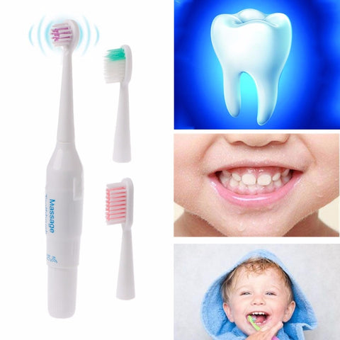 Kids Professional Oral Care Clean Electric Teeth Brush Power Baby Toothbrush