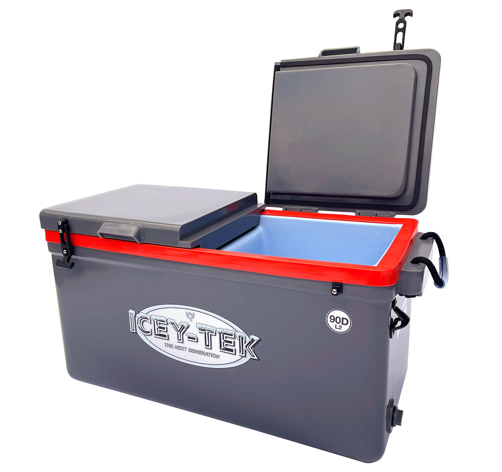ICEY-TEK SPLIT LID COOL BOXES