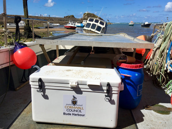 Cool Boxes UK Icey-Tek Bude Harbour