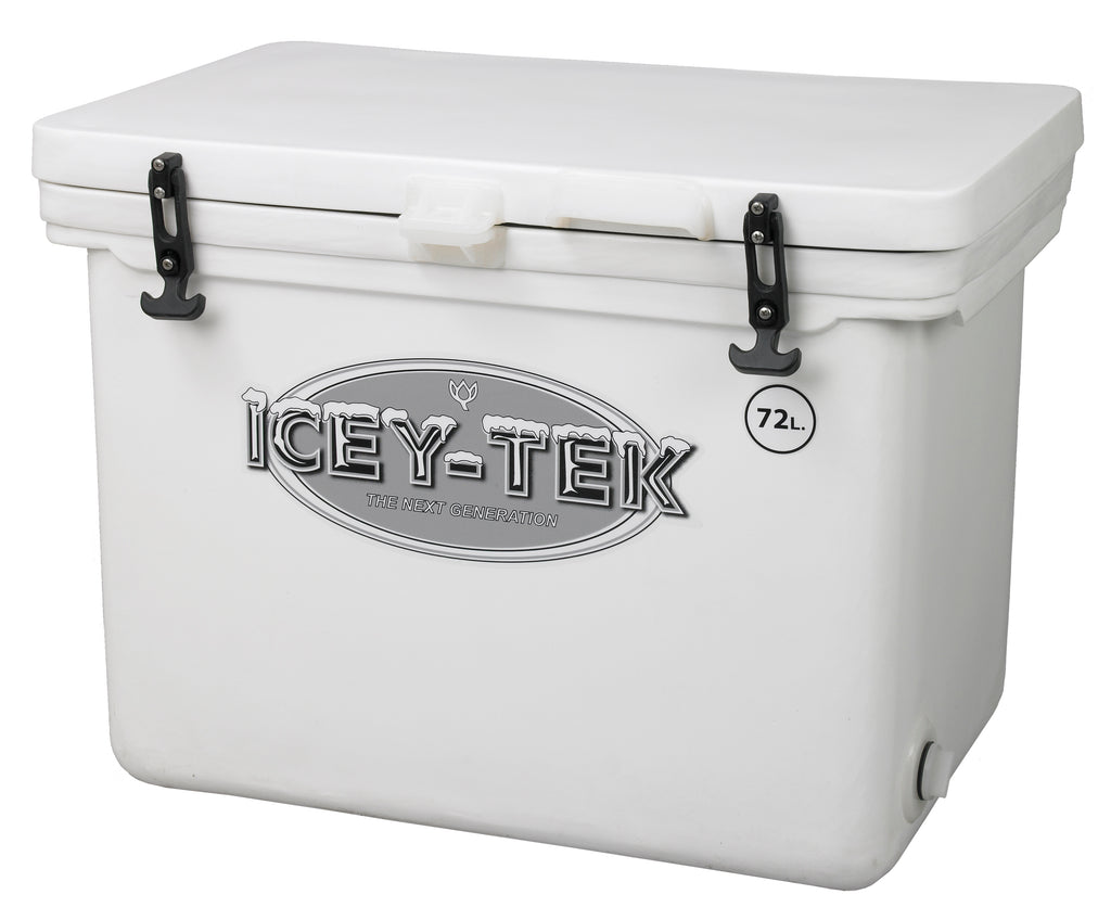 Icey-Tek 72 Litre Cube Cool Box In White