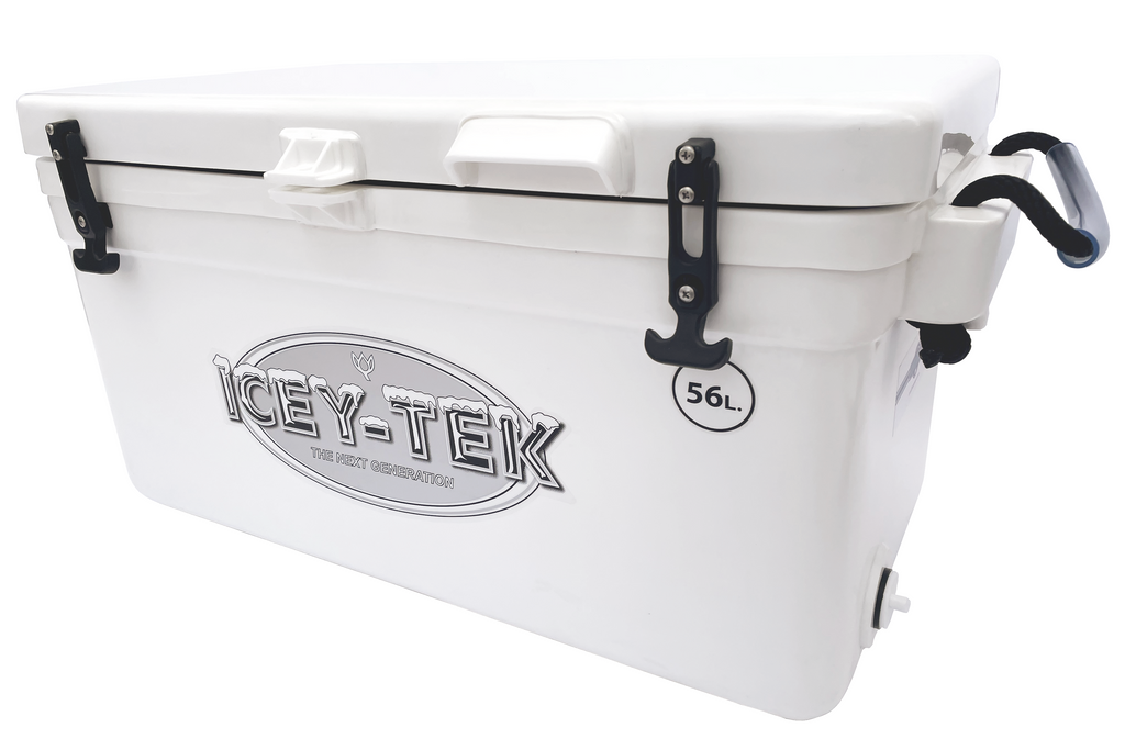 Icey-Tek 56 Litre Long Cool Box In White From Cool Boxes UK