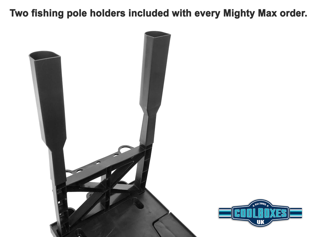 Mighty Max Cart Fishing Pole Holder