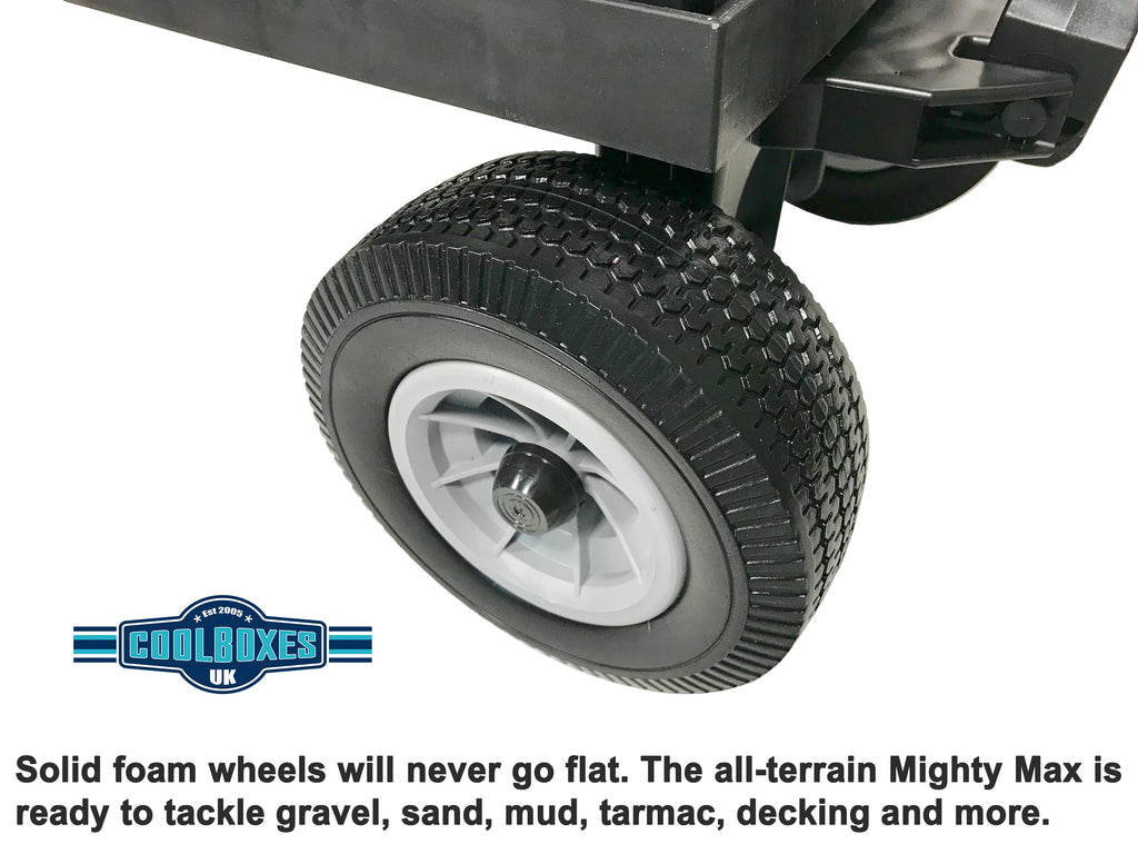 Mighty Max Cart Solid Foam Wheels