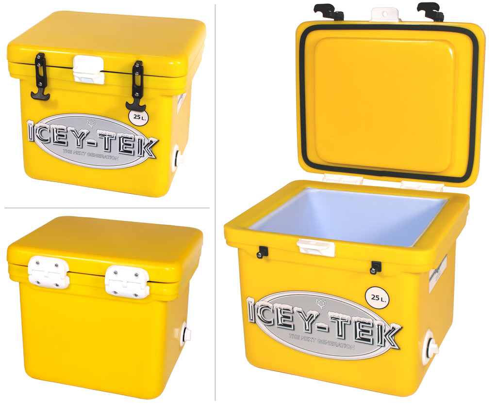 Yellow Canary Icey-Tek 25 Litre Cube Cool Box