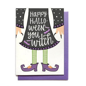 Halloween Card - Witch  - HW4