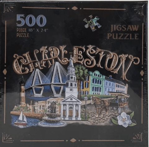 500 Piece Charleston Chalk Art Puzzle