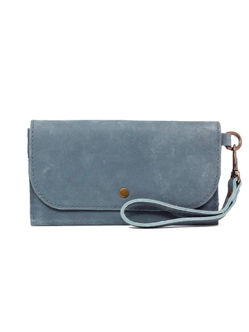 Able Mare Phone Wallet - Denim Blue