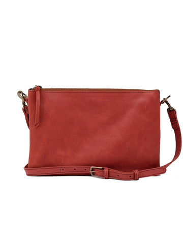 Able Martha Crossbody - Brick Red