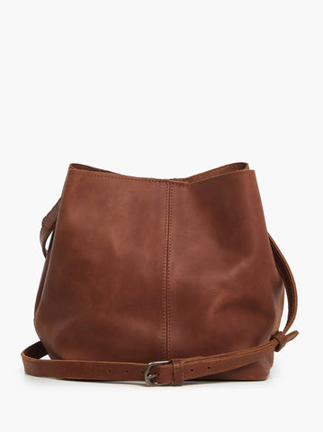 Able Mihiret Crossbody - Whiskey