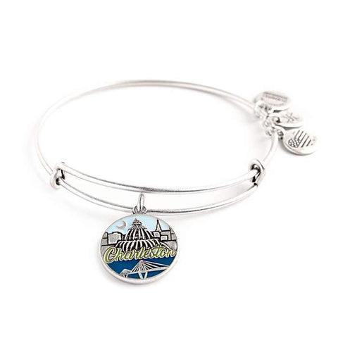 Alex & Ani Charleston Bangle - Silver