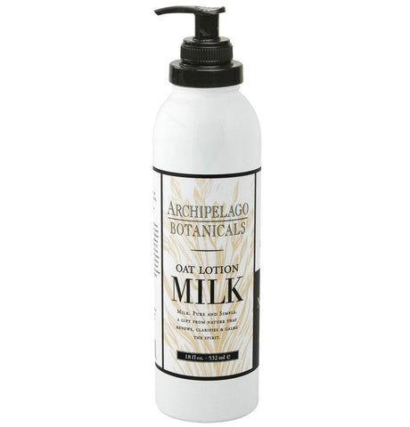 Archipelago 18 oz Lotion - Oat Milk