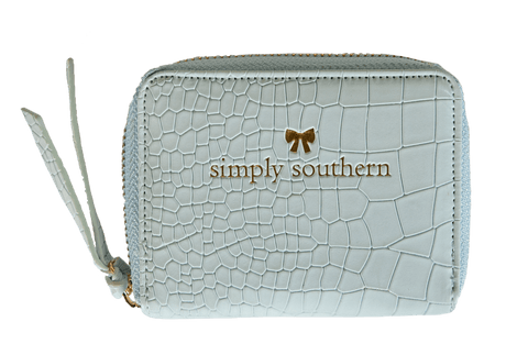 Blue Simply Southern Coin Wallet
