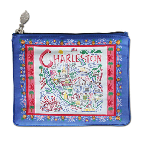 Charleston CatStudio Zip Pouch