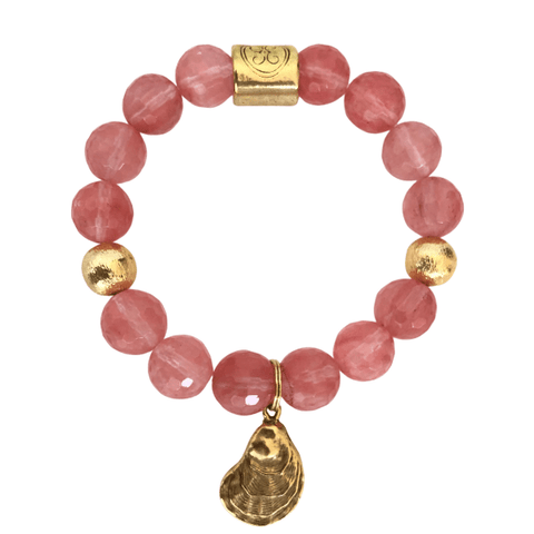Charleston Oyster Bracelet - Watermelon