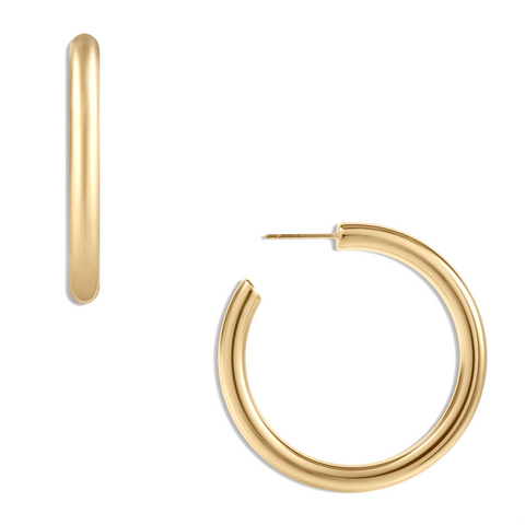 Ellie Vail Cecile Thick Large Hoop Earring