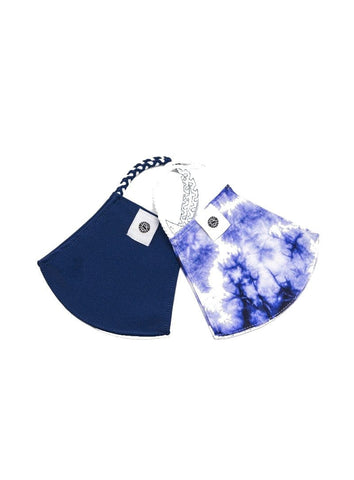 Face Mask Set - Indigo Tie Dye
