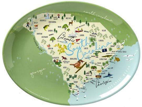 "Galleyware 16"" South Carolina Platter"