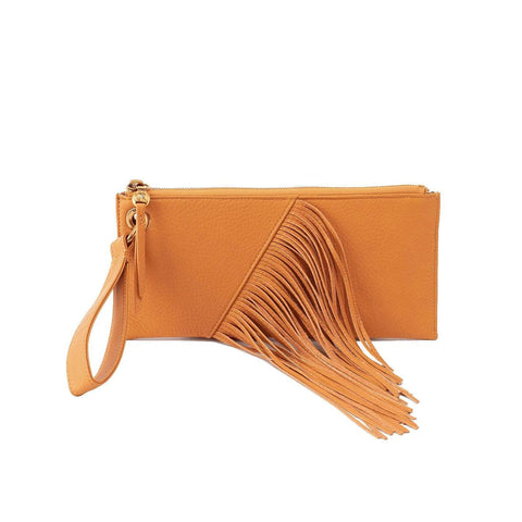 Hobo Dizzy Wristlet - Butterscotch