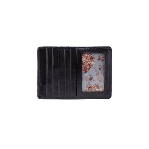 Hobo Euro Slide Credit Card Wallet - Black