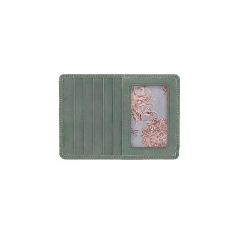 Hobo Euro Slide Credit Card Wallet - Moss