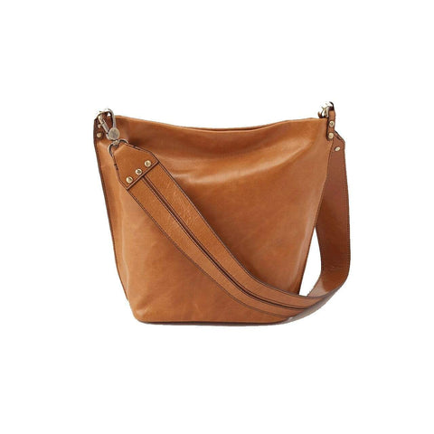 Hobo Flare Shoulder Bag - Honey