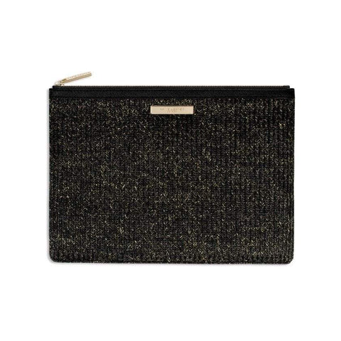 Katie Loxton Beach Luxe Pouch - Black
