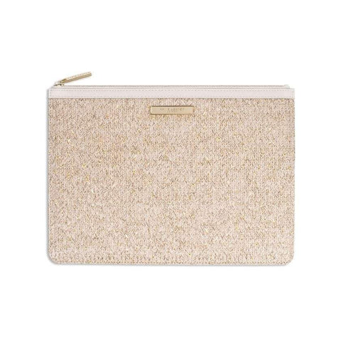 Katie Loxton Beach Luxe Pouch - Natural