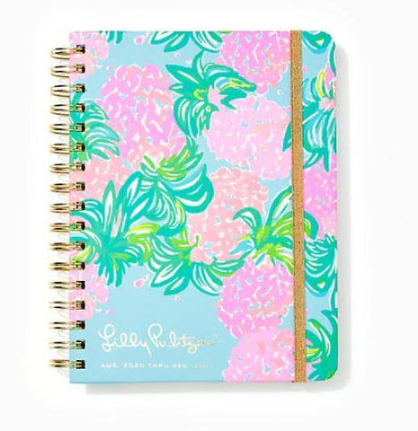 Lilly Pulitzer 2021 17 Month Large Agenda - Pineapple Shake