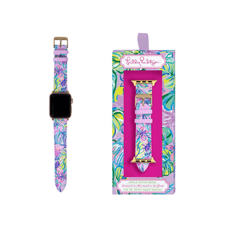 Lilly Pulitzer Apple Watch Band - Mermaid in the Shade